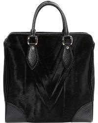 56872fe5e55f Givenchy Antigona Pony-style Calfskin Bag in Natural - Lyst