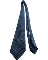 Bottega Veneta Wool Tie - Grey