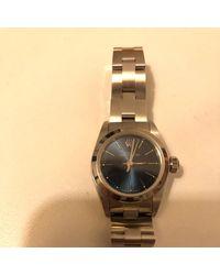 Rolex Lady Oyster Perpetual 26mm Uhren - Blau