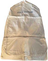 Louis Vuitton Leinen Reisetaschen - Natur