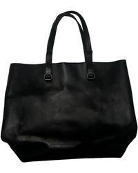 Maison Margiela Black Leather Bag