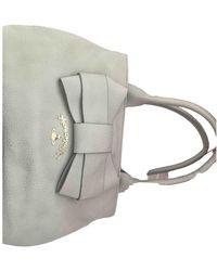 Vivienne Westwood Leather Handbag - Gray