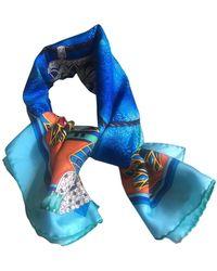 Cartier Pañuelos en seda multicolor - Azul