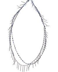 Isabel Marant Collar largo - Metálico