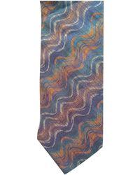 Missoni Seide Krawatten - Blau
