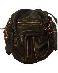Alexander Wang Marti Black Leather Backpacks