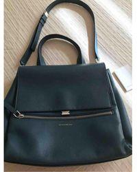 Givenchy Pandora Leder Handtaschen - Blau