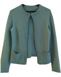 Chanel Jersey en cachemira turquesa - Verde