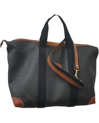 Longchamp Leinen 24 std/ tasche - Braun