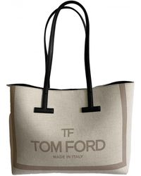 Tom Ford Cloth Tote - Natural
