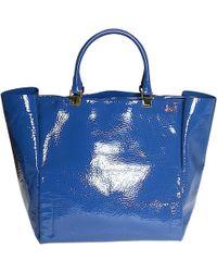 Lanvin - Patent Leather Handbag - Lyst