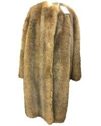 Givenchy Faux Fur Coat - Multicolor