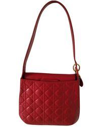 Dior Leder Handtaschen - Rot