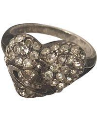 Vivienne Westwood Silver Ring - Metallic