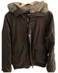 Woolrich Faux Fur Parka - Brown