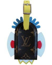 Louis Vuitton Brown Cloth Bag