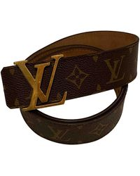 Louis Vuitton Cloth Belt - Brown