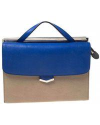 Fendi Demi Jour Beige Leather Handbag - Natural