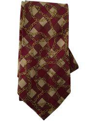 Chanel Silk Tie - Red