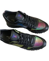 Louis Vuitton Run Away Leather Low Sneakers - Multicolor