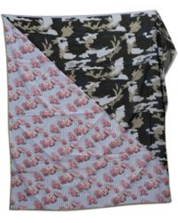Givenchy - Pre-owned Multicolour Cotton Scarf - Lyst