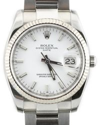 Rolex Reloj en acero multicolor Oyster Perpetual 34mm