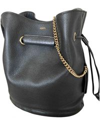 Lancel Huit Leather Crossbody Bag - Black