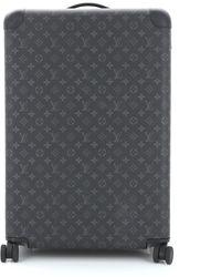Louis Vuitton Leinen Handtaschen - Schwarz