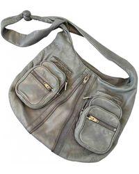 Alexander Wang Donna Leather Crossbody Bag - Grey