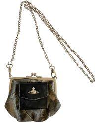 Vivienne Westwood Leather Crossbody Bag - Brown