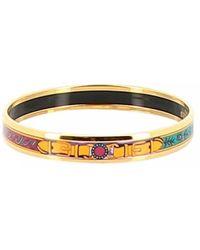 Hermès Bracelet Email Armbänder - Lila