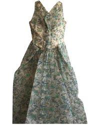Zac Posen Maxi Dress - Green
