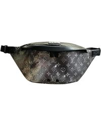 Louis Vuitton Leinen Taschen - Schwarz