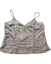 Dior Silk Camisole - Metallic