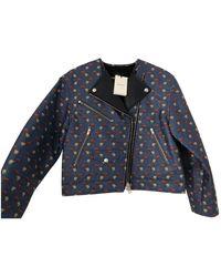 Isabel Marant - Blue Polyester Jacket - Lyst