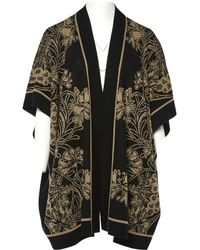 Anna Sui - Gilet Lungo In Lana - Lyst
