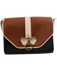 Givenchy - Obsedia Brown Leather Handbag - Lyst