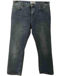 Acne Studios Blue Denim - Jeans Jeans Pop