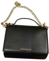 Givenchy Pandora Box Leder Cross Body Tashe - Schwarz