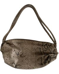 Roberto Cavalli Leather Clutch Bag - Multicolor