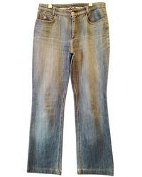 Burberry Large Pants - Blue
