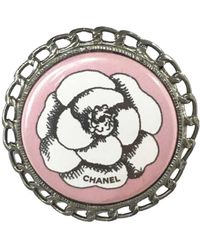 Chanel Timeless/Classique Schlüsselanhänger - Mettallic
