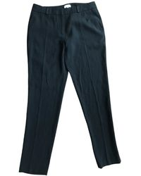 Claudie Pierlot Spring Summer 2020 Trousers - Blue