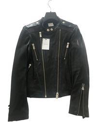 Anine Bing Leather Jacket - Black