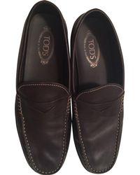12bb831062e Lyst - Tod s Mens Black Patent Leather