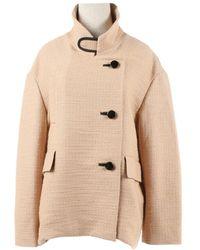 Marni - Beige Wool Jacket - Lyst