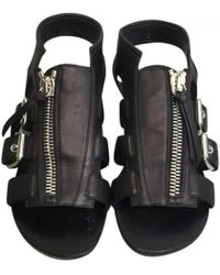 Giuseppe Zanotti - Leather Sandals - Lyst