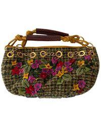 Etro Wool Handbag - Multicolor