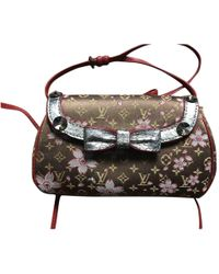 Louis Vuitton - Pre-owned Silk Clutch Bag - Lyst