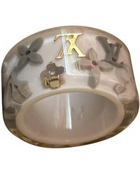 Louis Vuitton Inclusion Ceramic Ring - White